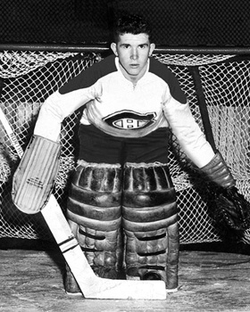 John Aiken Pulled From The Crowd To Be A Habs Goalie Eyes On The