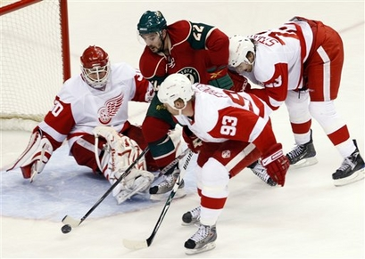 Wild vs. Red Wings