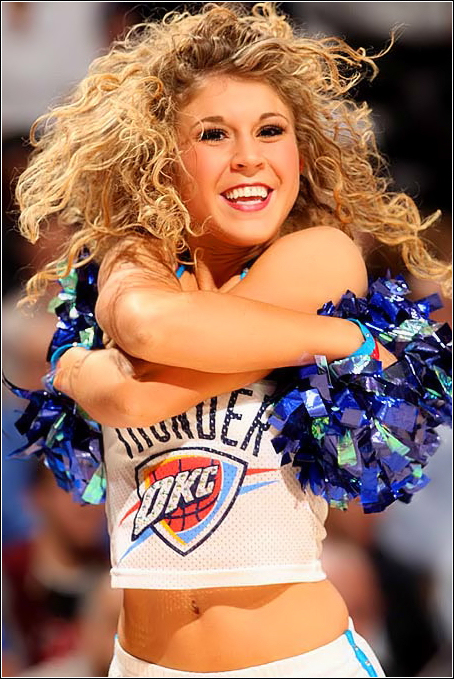 Miss a previous issue of Thunder Girl of the Week? Don't worry, we're making