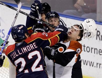 APTOPIX Flyers Panthers Hockey