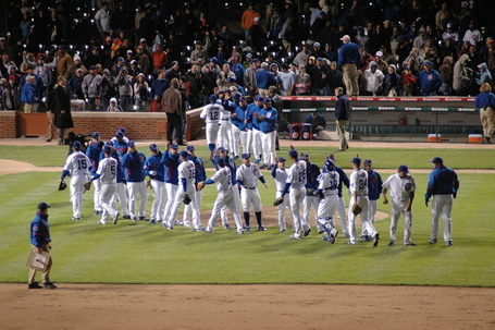 Cubs win!