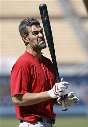Agreed, Mike Lowell. Agreed.