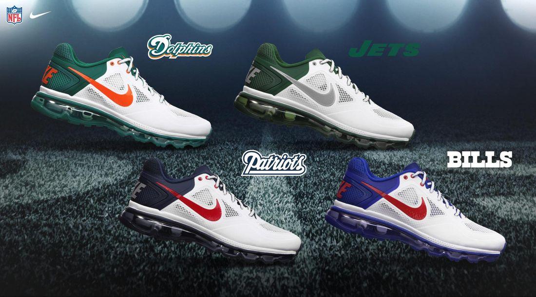 sports shoes aa866 36d83 AFC NORTH -- Nike Huarache Free Shield NFL