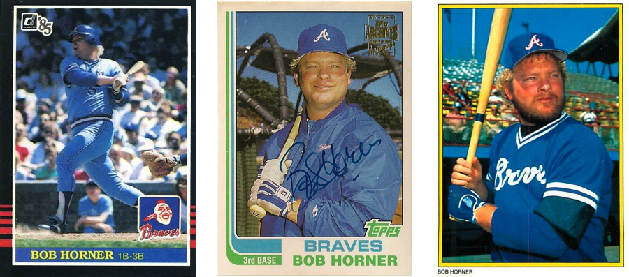 Five To Collect Bob Horner Talking Chop