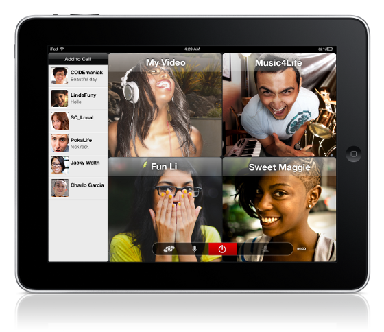 Oovoo app adds 12-way video chat to Facebook - The Verge