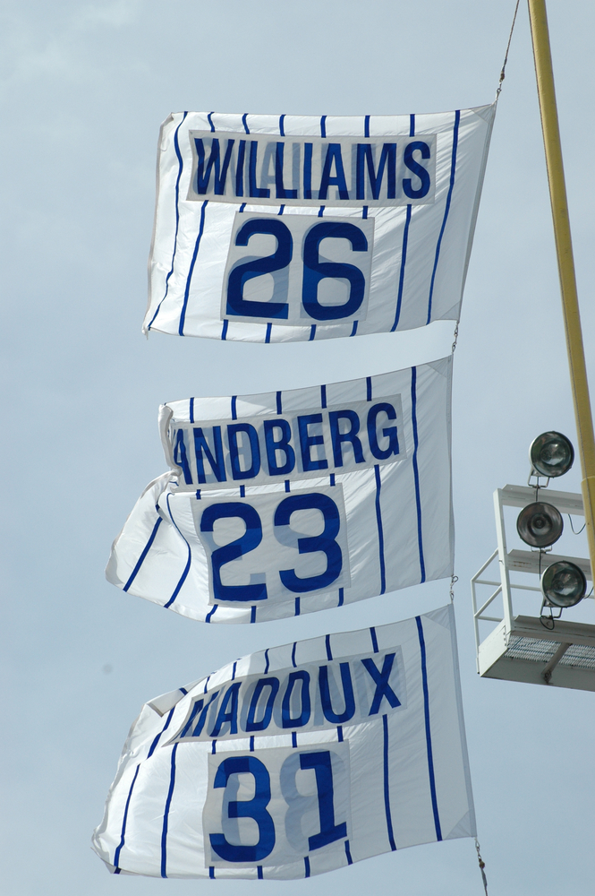 The Flags Of Wrigley - Bleed Cubbie Blue