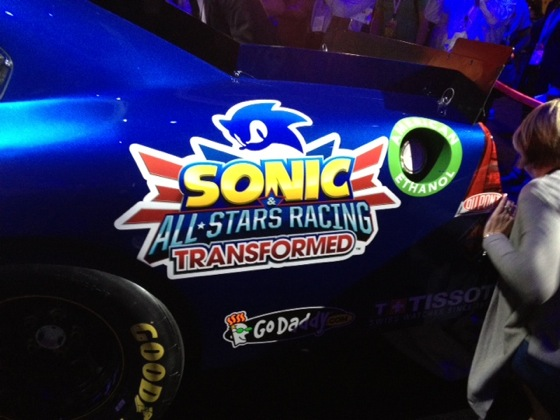Lion Car Logo >> 'Sonic & All-Stars Racing Transformed' adds NASCAR driver Danica Patrick to roster - Polygon