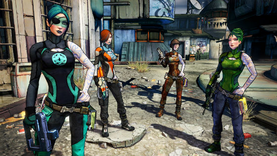 'Borderlands 2' - Badass ranks, unlockable skins and ...