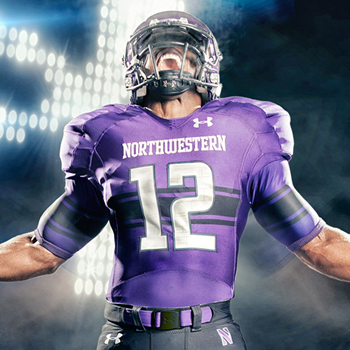 finest selection d99ce 61f5c New Northwestern Football Jerseys From Under Armour Have ...