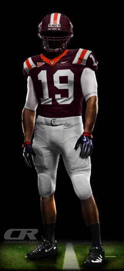 huge discount d466e a5632 Ranking Virginia Tech's 2011 Uniform Combinations - Gobbler ...