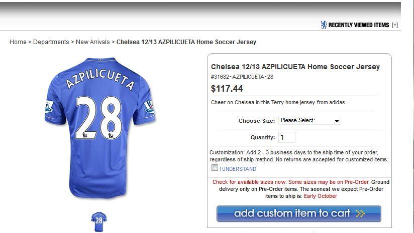 huge discount ec7df bbed9 Cesar Azpilicueta gets a Chelsea squad number - We Ain't Got ...