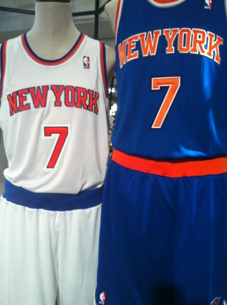sports shoes a1e5b b303c Here are the Knicks' new uniforms. - Posting and Toasting