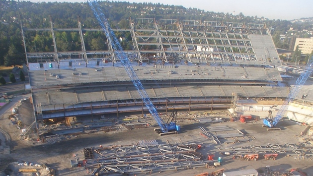 Husky Stadium Update Uw Dawg Pound