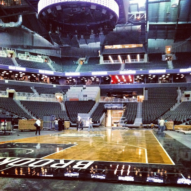 Hello Brooklyn New Photos Of The Nets Arena Barclays