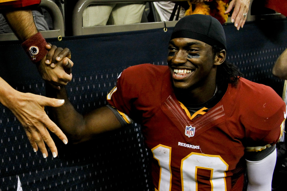 de23d469 RGIII Plays Savior, And Redskins Fans Can Go Insane All Over Again ...