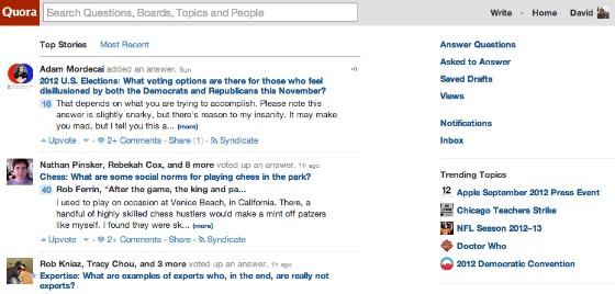 Quora, Silicon Valley's favorite Q&A site, updates design to