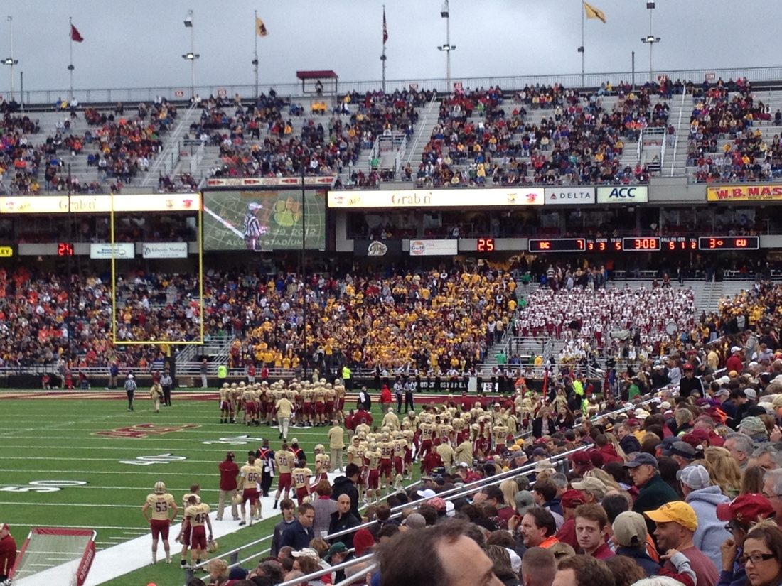 Boston College Football: On Student Attendance - BC ...