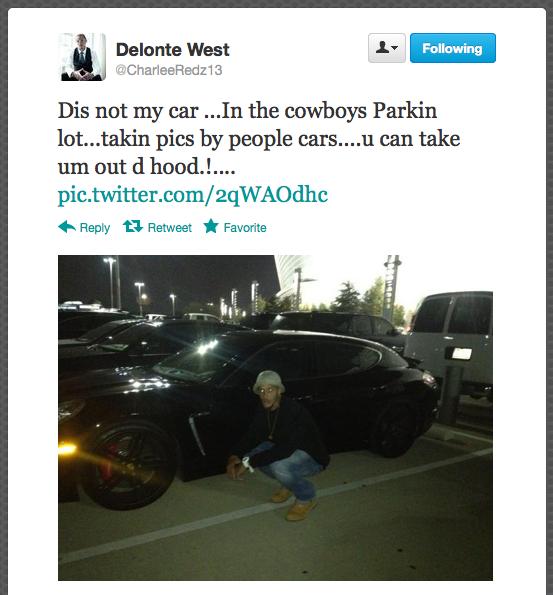 ALERT: Delonte West Is Doing Delonte West Things