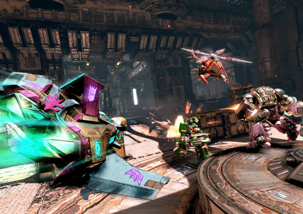 Transformers: Fall of Cybertron review: wheels of steel | Polygon