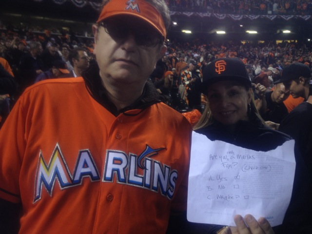Who is the mystery Marlins fan at the World Series? - SBNation com