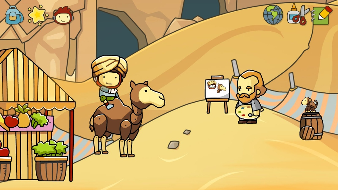 Scribblenauts Unlimited review: words, words, words | Polygon