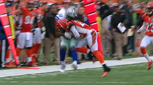 Marvin Lewis On Reggie Nelson Hit Thought It Was Picture