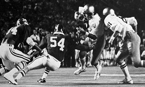 The Historical Alabama Vs Notre Dame The 1975 Orange Bowl Roll Bama Roll