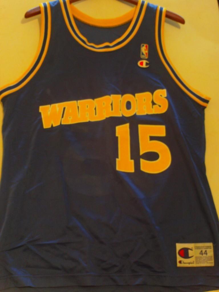 07c23665 ... Jersey Latrell Sprewell, 15, Golden State Warriors ...