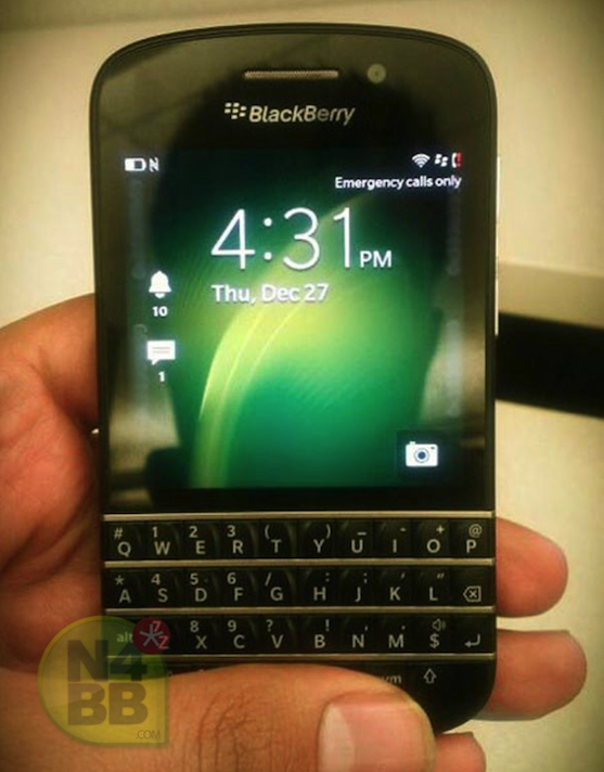 RIM's BlackBerry 10 QWERTY smartphone and software revealed in more