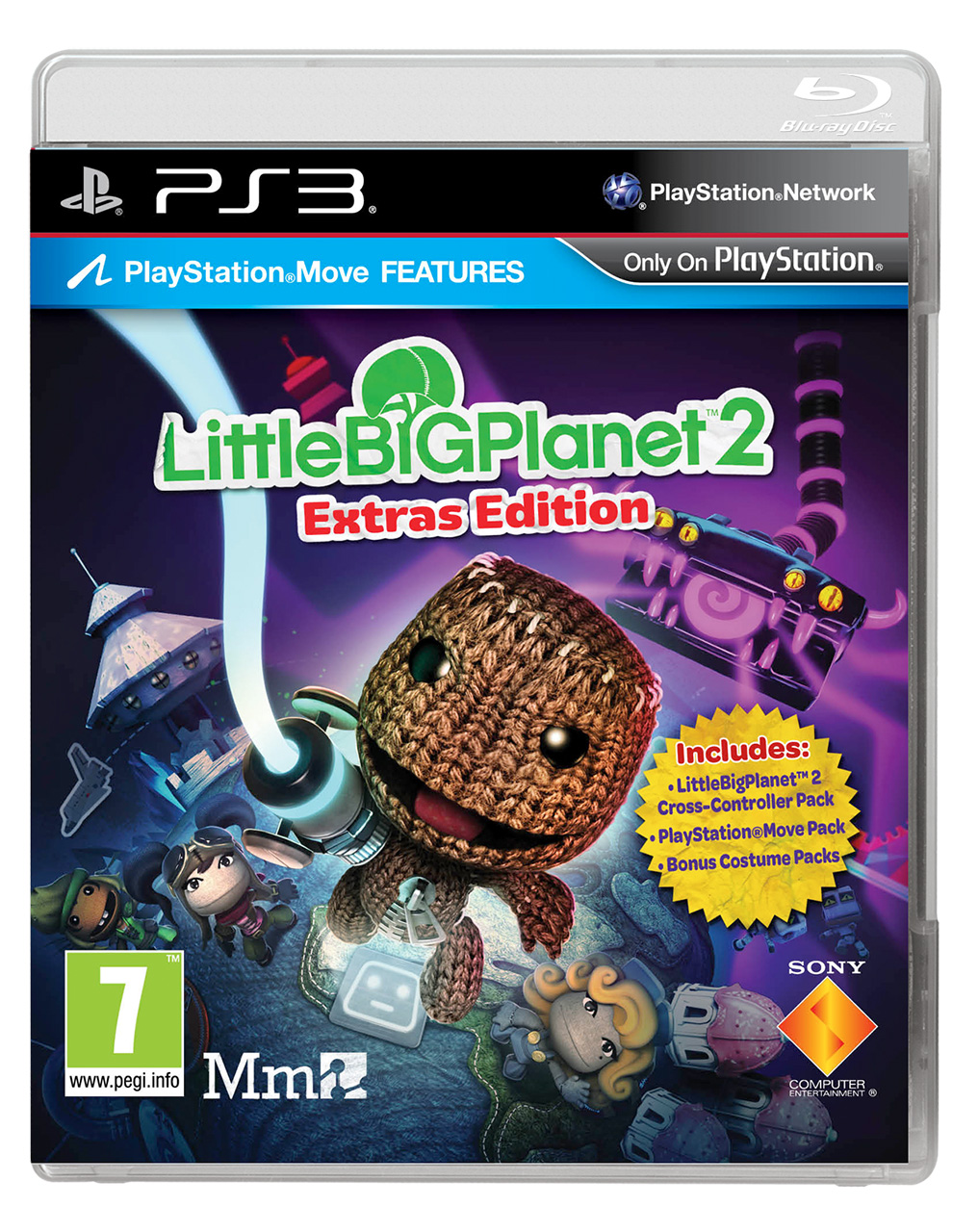 LittleBigPlanet 2: Extras Edition collects DLC on disc for ...