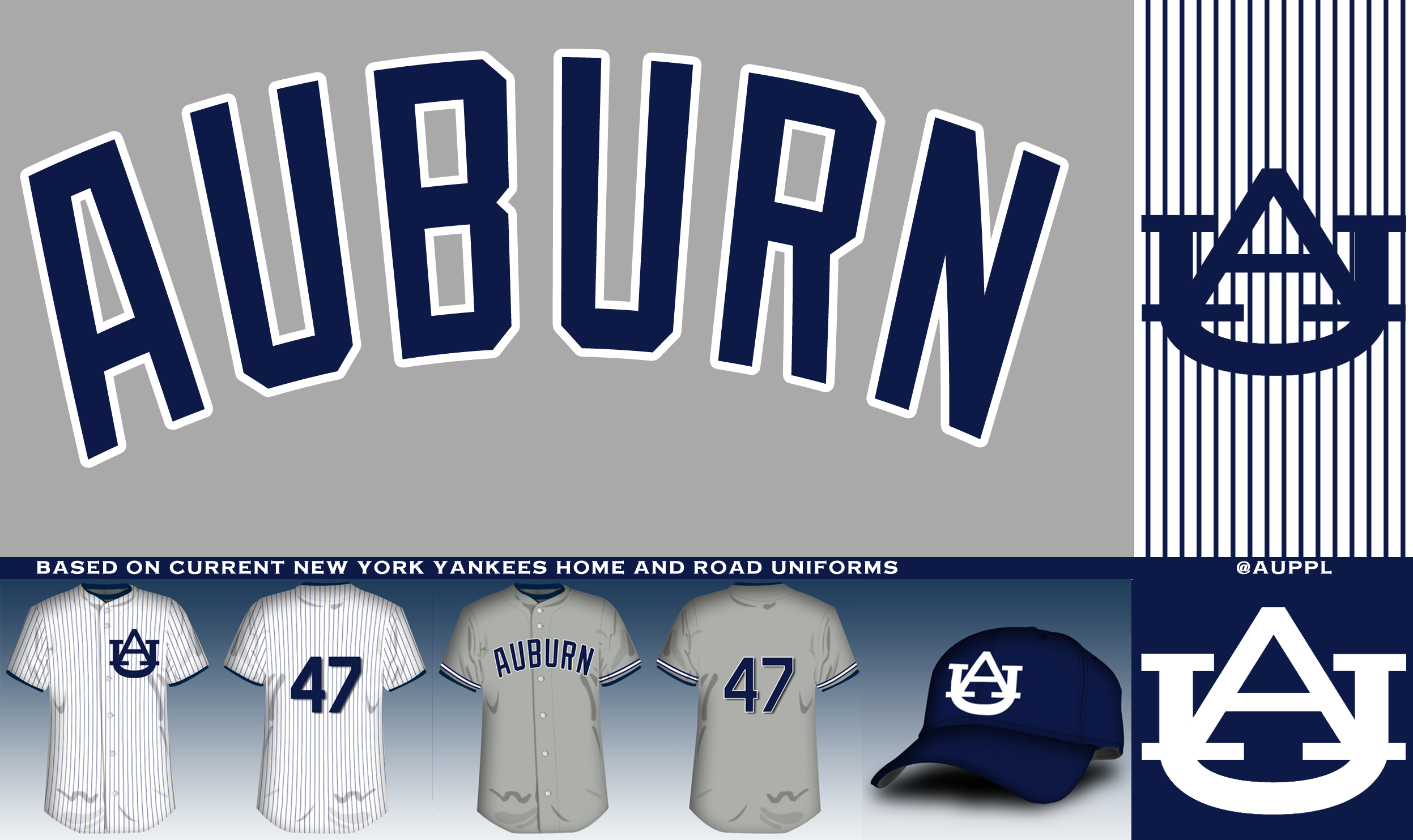 outlet store 2370d f051a Redesigning the Auburn baseball uniform - College and Magnolia