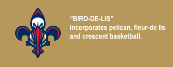 Orleans Pelicans Logos Revealed