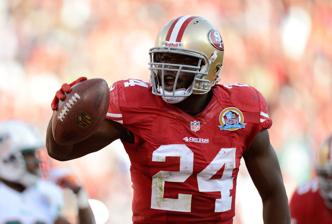 on sale 6165d 7dd98 Super Bowl 47 Position Preview: Frank Gore running for glory ...