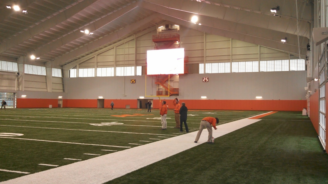Clemson Officially Unveils Indoor Facility Shakin The
