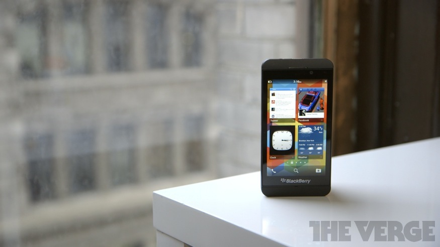 BlackBerry Z10 review: a new life, or life support? - The Verge