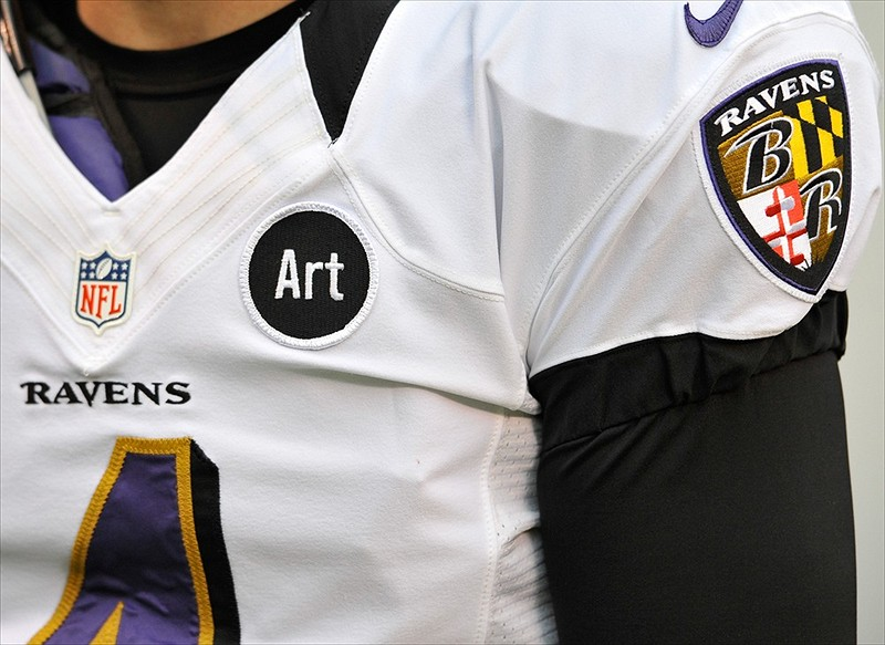Baltimore Jersey Patch Ravens Baltimore Ravens