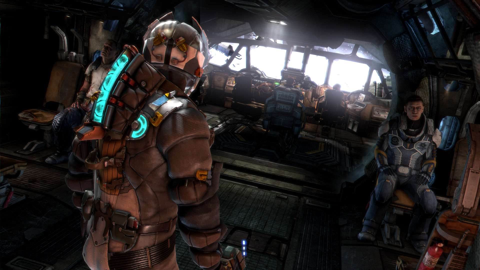 dead space 3 review engineering violence polygon. Black Bedroom Furniture Sets. Home Design Ideas