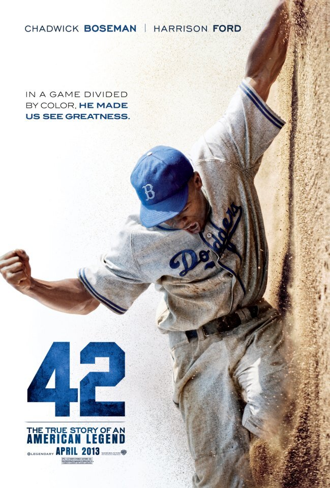 """""""42"""" The Jackie Robinson Movie = The Answer To Life, The ..."""