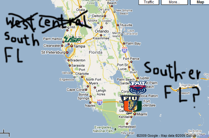 South Florida Week Directional Ineptitude Red And Black Attack
