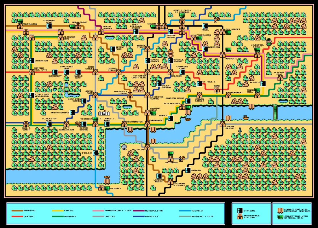 super mario bros 3 world 5 map
