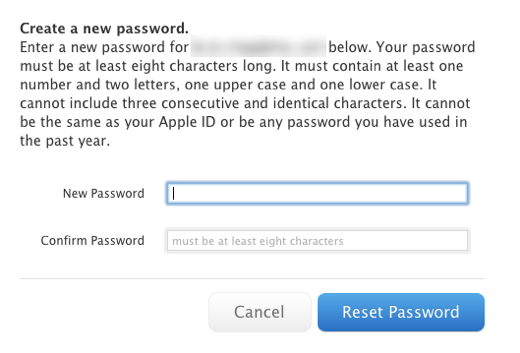 Major security hole allows Apple passwords to be reset with