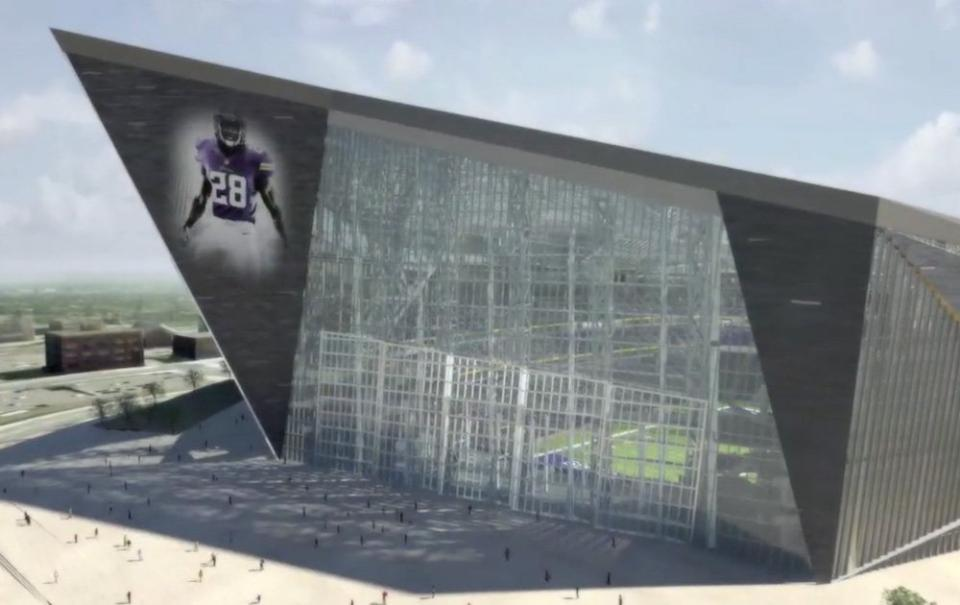 New Minnesota Vikings Stadium Stunning Innovative And