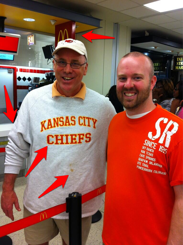low priced 8422a 52926 KC Chiefs GM John Dorsey spotted in Chicago decked out in ...