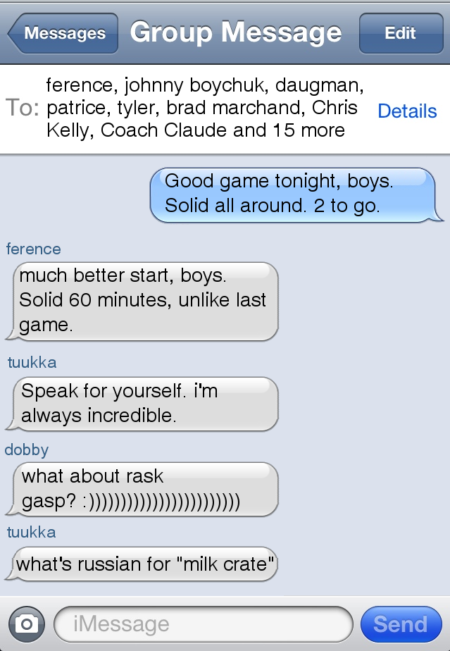 Text Message Group 98