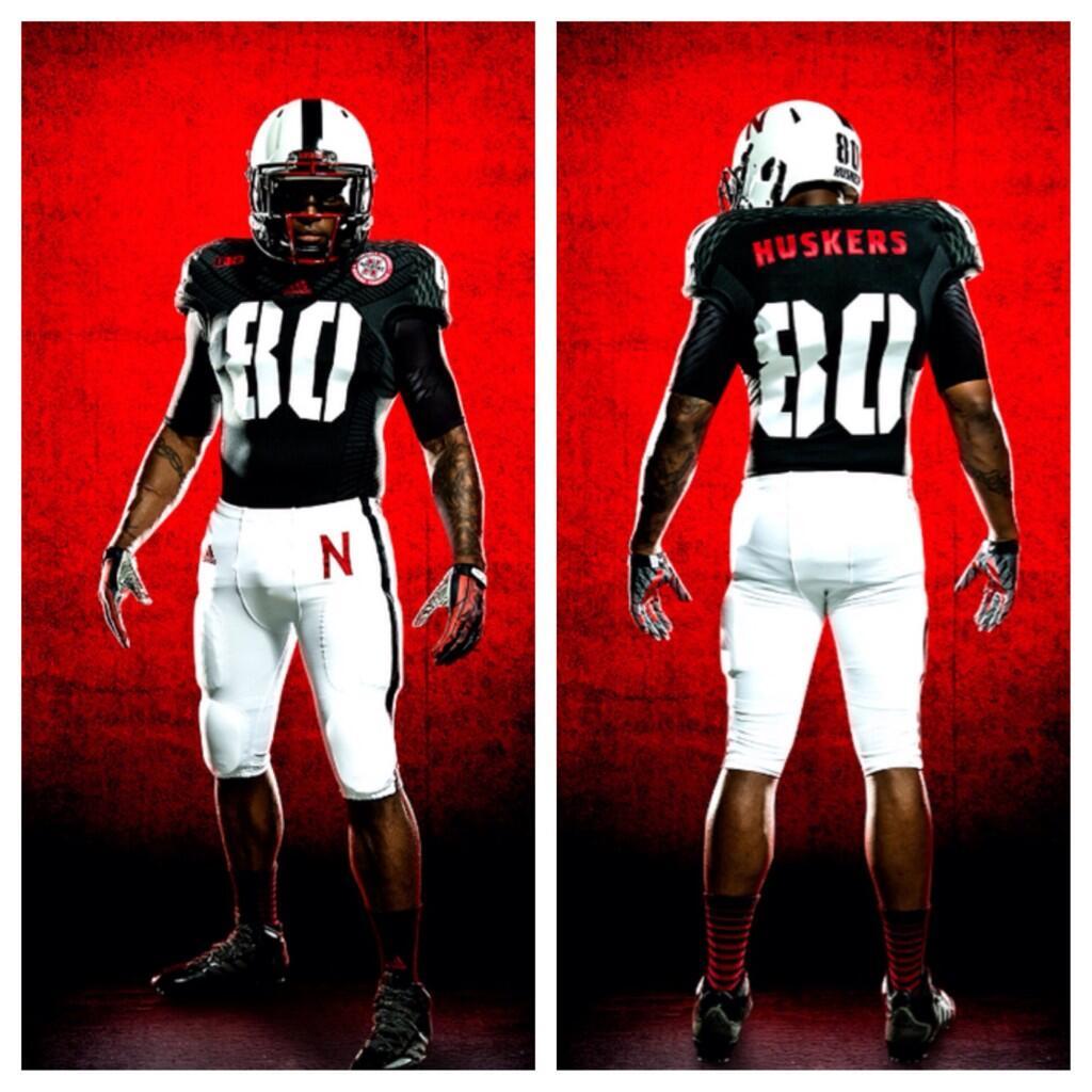 check out 5e607 99e5d Adidas Announces Nebraska Alternative Uniforms for UCLA Game ...