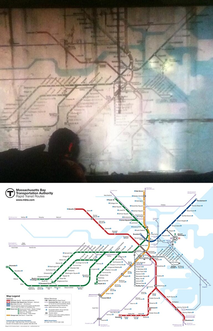 The Last Of Us Story Map Boston transit map designer 'furious' after map's apparent