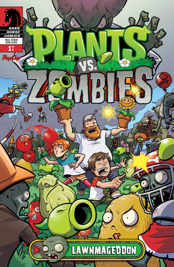 Plants vs  Zombies comic arrives on iOS, first issue free - Polygon