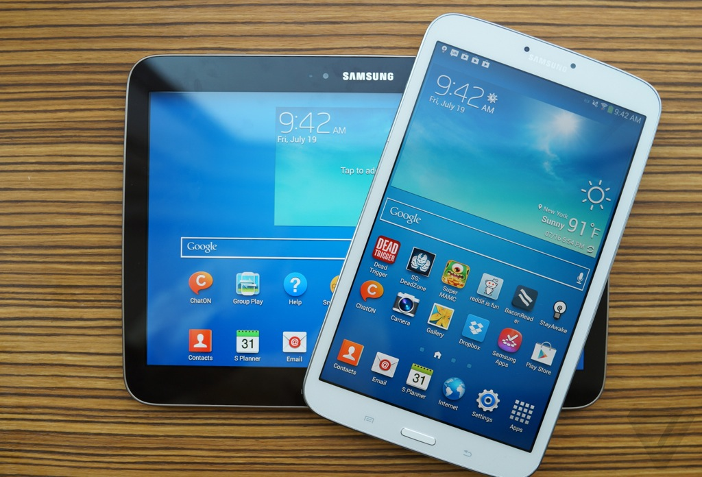 Samsung Galaxy Tab 3 8 0 and 10 1 review | The Verge