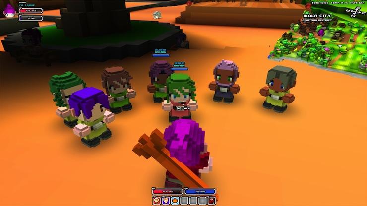 Cube World: where Minecraft meets Warcraft - Polygon