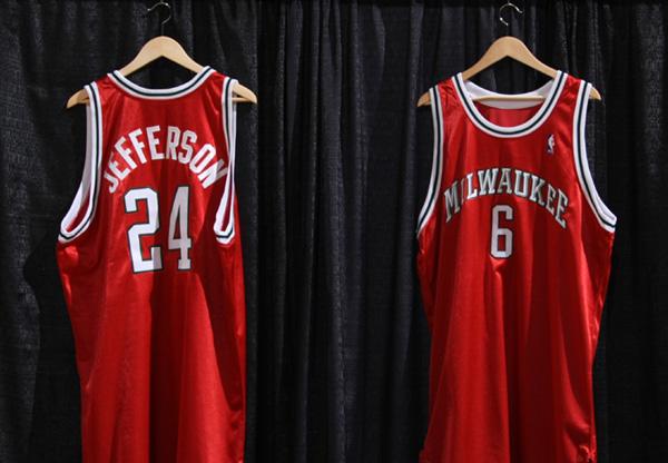 37c1499b85a Red Alert: Bucks Unveil New Third Jersey. By Frank Madden Sep 25, 2008,  4:22pm CDT. Share Tweet Share. Share Red Alert: Bucks Unveil New Third  Jersey